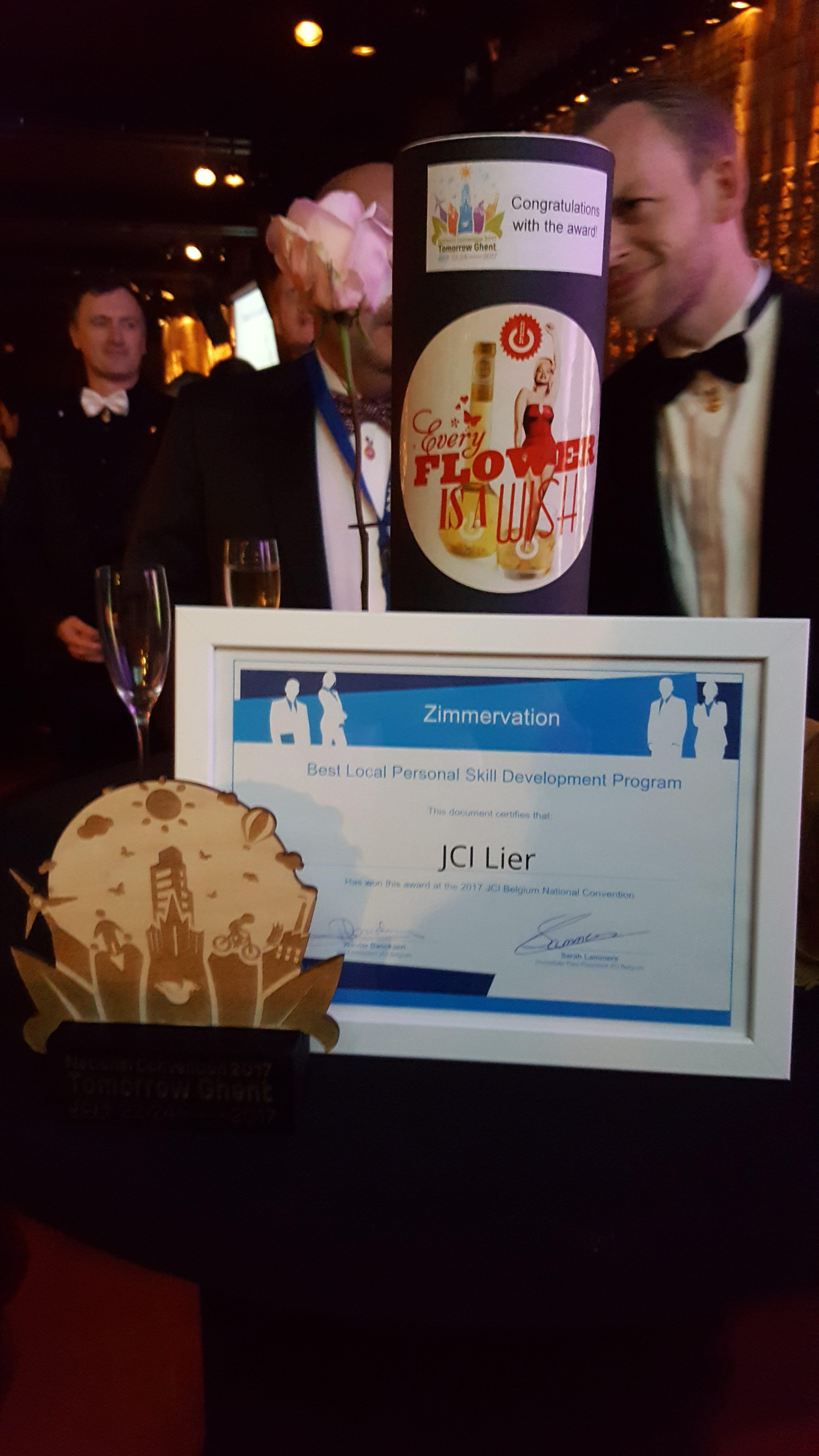 NC Gent - award