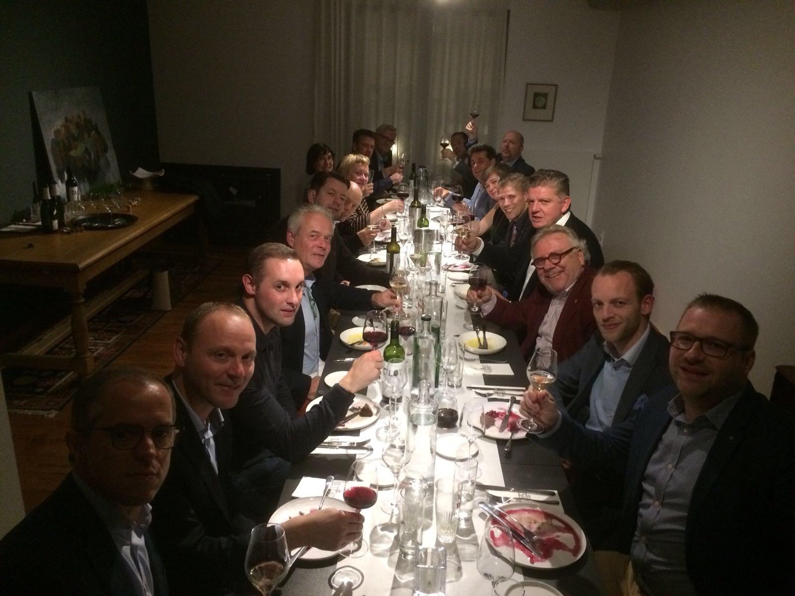 Past Presidents dinner JCI Lier