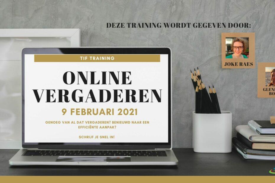 Tiff training van JCI Lier over online vergaderen